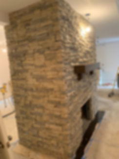 Fireplace Remodeling and Mantel