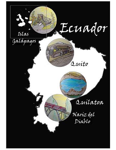 Dibujo original Ecuador