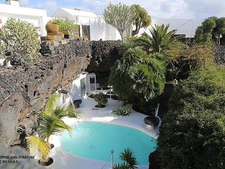 Cinco obras de César Manrique en su isla, Lanzarote