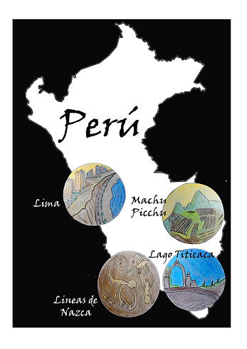 Dibujo original Peru