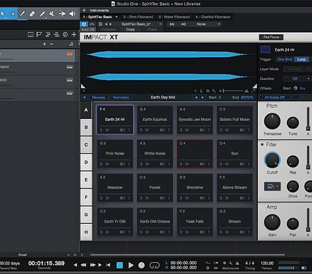 Optional SpiritTec Fibonacci Process™ Sound Files.