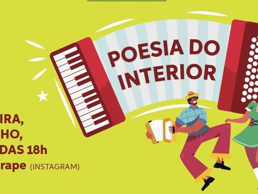 """""""Poesia do Interior"""" no Saraus em Pasárgada de junho"""