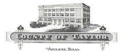 1915 Taylor County Courthouse Letterhead