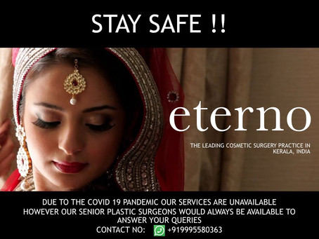 Eterno - The Cosmetic Surgery Practice in Kerala