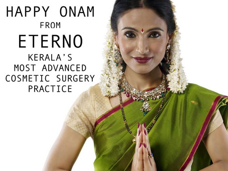 Onam wishes from Eterno