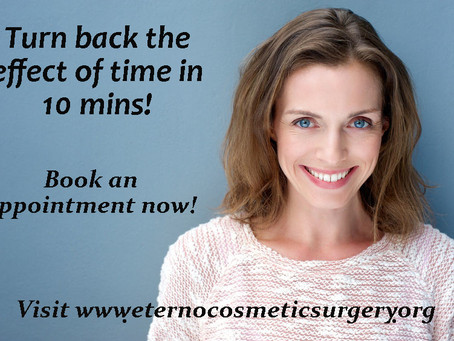Botox away the wrinkles and fine lines.