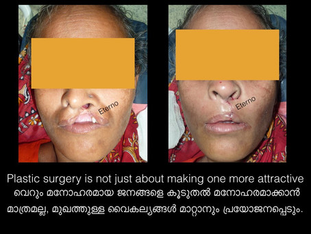 At Eterno . . . our cosmetic surgeons have a different view of cosmetic surgery !