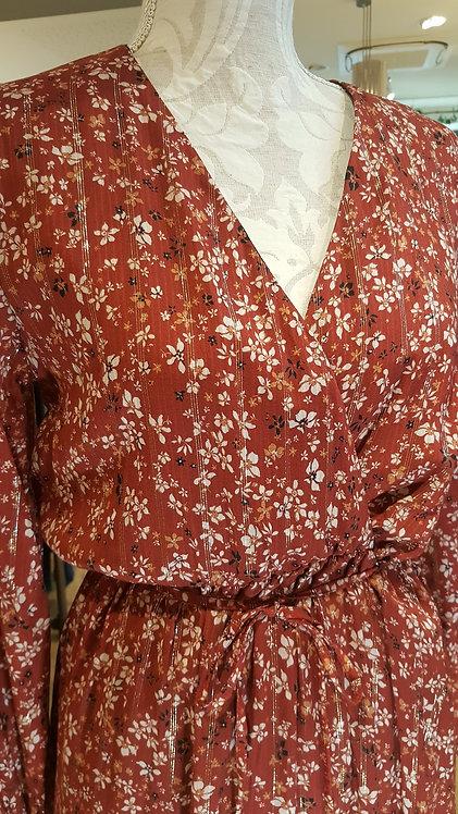 La Fée Maraboutée - Robe fluide coeur croisé - Taille 38 & 40