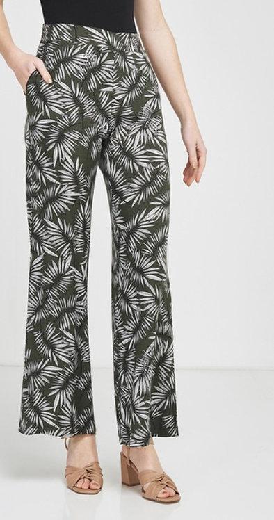 La Fée Maraboutée - Pantalon fluide imprimé palmier - Ref: MAITENA