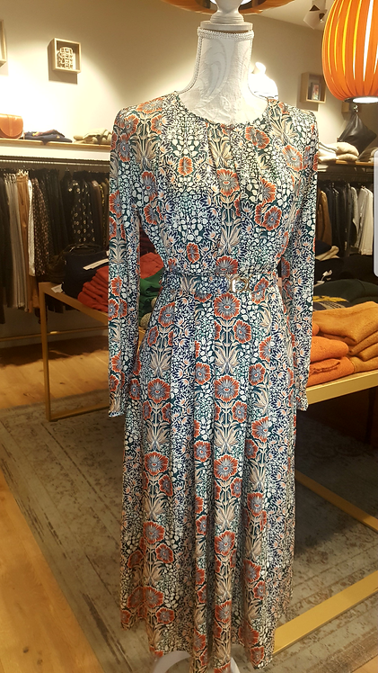 SUNCOO - Robe longue imprimé fleuri - Taille 3