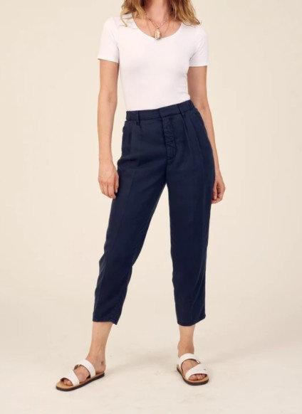 LAB DIP - Pantalon LOCA - Couleurs Marine ou Dijon