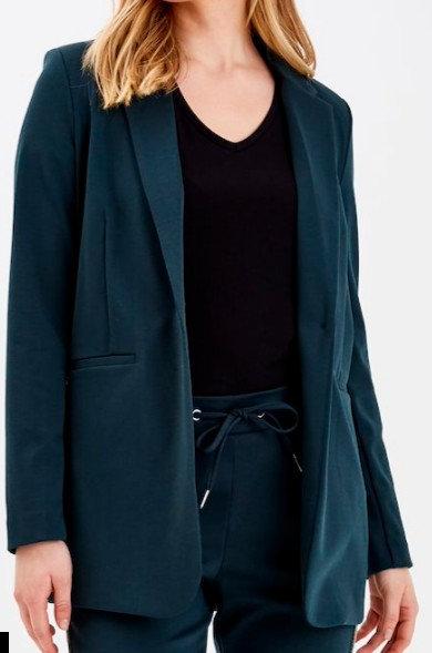 B-YOUNG - Blazer coloris vert - Ref: ByRizetta