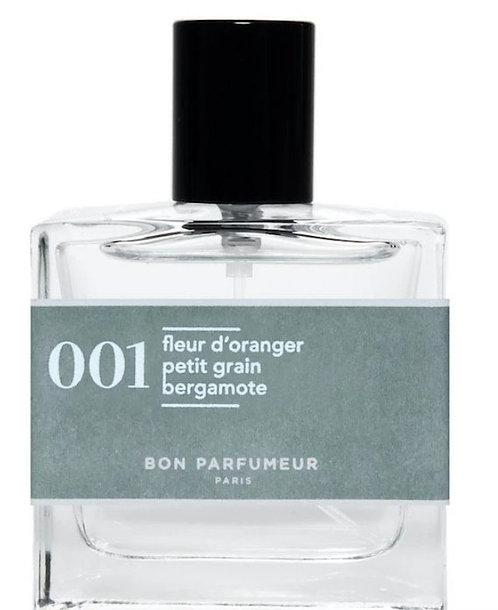 BON PARFUMEUR - Flacon 001 - fleur d'orange, petit grain, bergamote