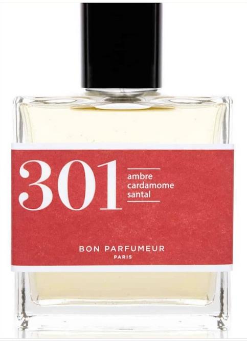 BON PARFUMEUR - Flacon 301 - ambre, cardamone, santal