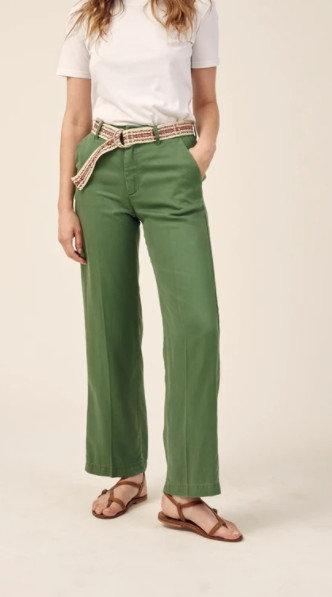 LAB DIP - Pantalon SIMON vert