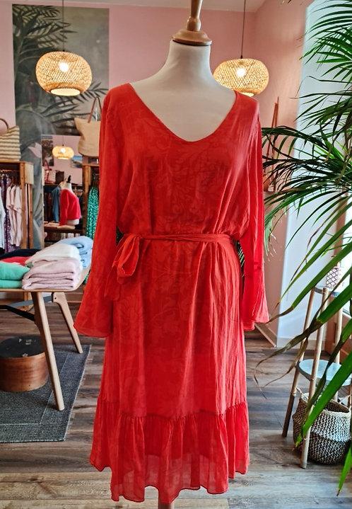 La Fée Maraboutée - Robe courte coton et soie - REF: FC 3784