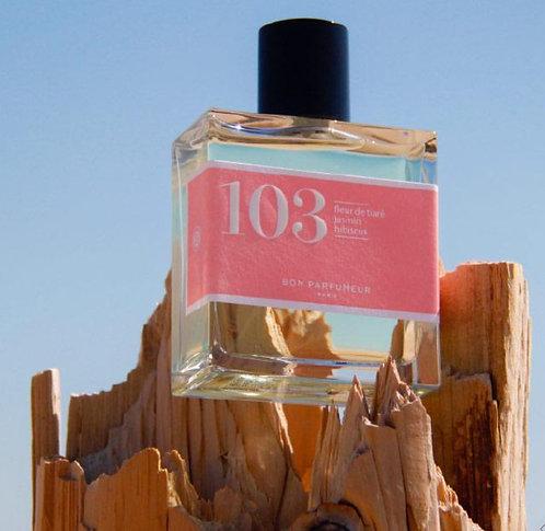 BON PARFUMEUR - Flacon 103 - fleur de tiaré, jasmin et à l'hibiscus