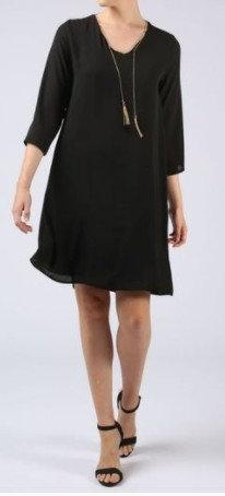 La Fée Maraboutée - Robe noire - Ref FB 5273