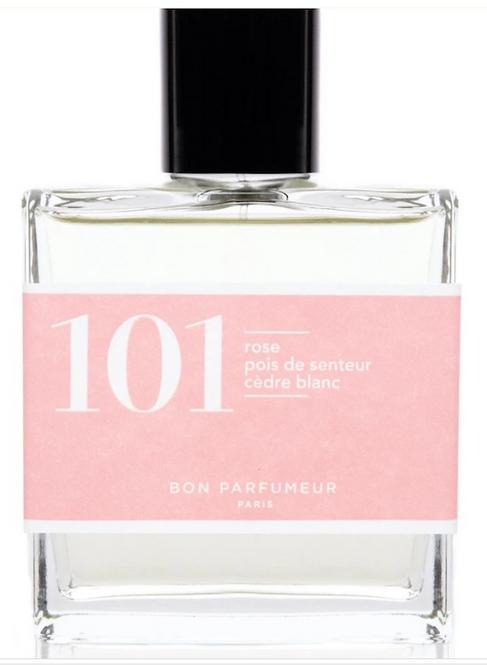 BON PARFUMEUR - Flacon 101 - rose, pois de senteur, cedre blanc