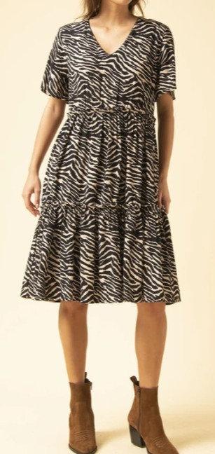 La Fée Maraboutée - Robe courte imprimée - Ref: NAHIMA