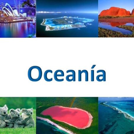 Oceanía, el continente de las islas