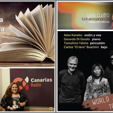 Descubriendo mas sobre la literatura venezolana y el encuentro musical entre Argentina y Japón