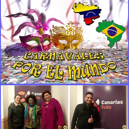Carnavales por el mundo: Venezuela y Brasil