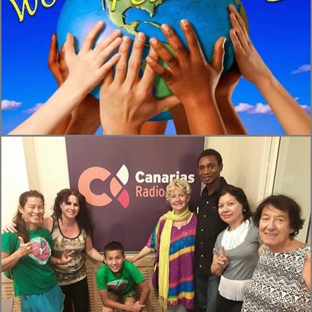Cinco países nos visitan para unir al mundo con un sólo propósito
