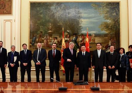 China y España firman un acuerdo de cooperación cultural