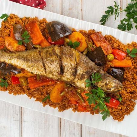Thieboudienne (Arroz con pescado de Senegal)