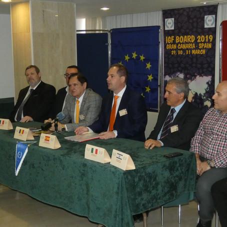 Gran Canaria Centro de decisiones de (IGF) Unión Mundial de Folclore