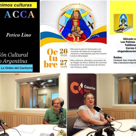 Argentina y Venezuela, protagonistas de un intercambio cultural con Canarias