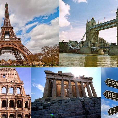 """Europa, los 50 países del continente de """"grandes ojos"""""""