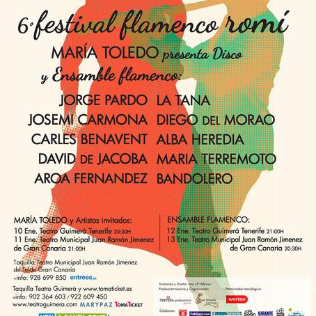 "VI Festival Flamenco Romí Homenaje a la mujer gitana ""Pativ e Rromnjaqe"""