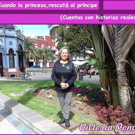 La princesa Albina. (Por Victoria Ponce)