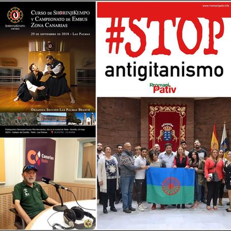 """Nos vista el precursor del Shorinji-Kempo en Canarias y hablamos sobre antigitanismo, """"Caso Bod"""