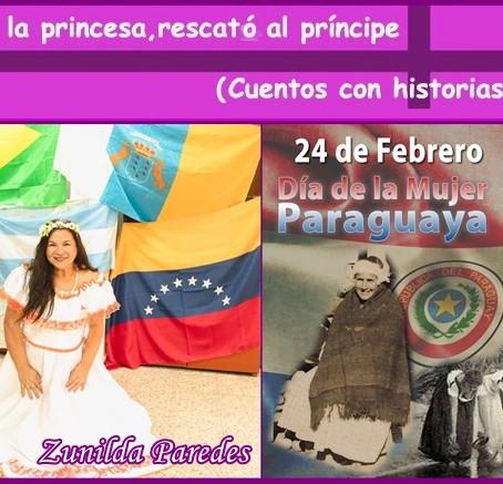 Homenaje a la Abuela Apolonia, por el Día de la Mujer Paraguaya