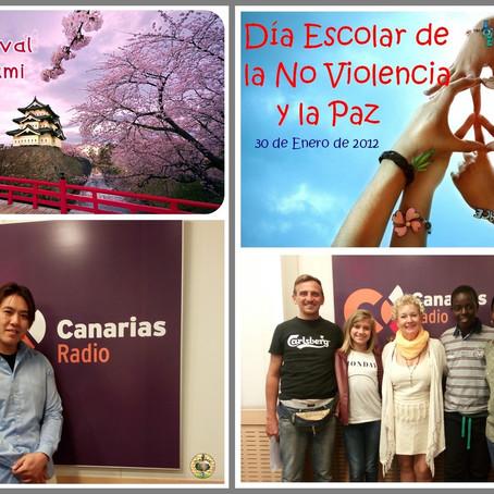Festival Hanami y Día Escolar de La paz y La No Violencia