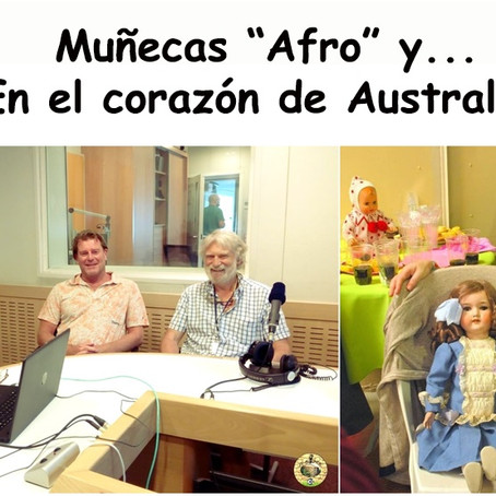 Aborígenes australianos y Muñecas Afro