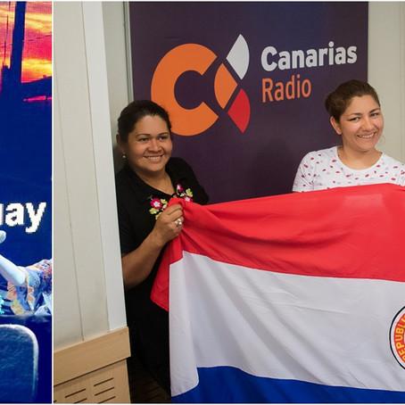 El grupo Jeroky Guaraní, homenajea a las madres del mundo en el Día de La Patria en Paraguay
