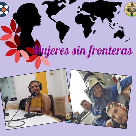 Estefany Logan, una hondureña que llegó a Canarias, con una maleta llena de sueños.