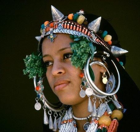 Auténticas joyas del bereber