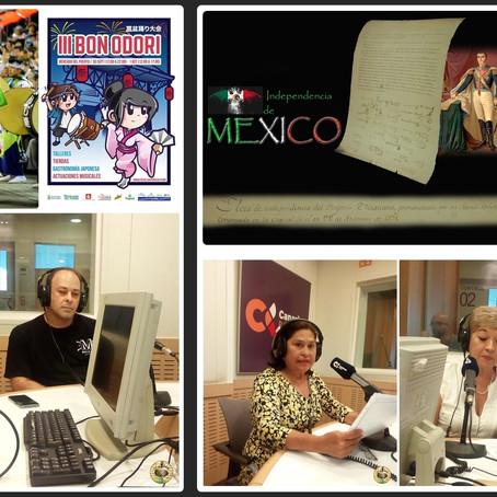 """Celebración del """"Bon Odori"""" japones en Canarias y día de la firma de la independencia de M"""