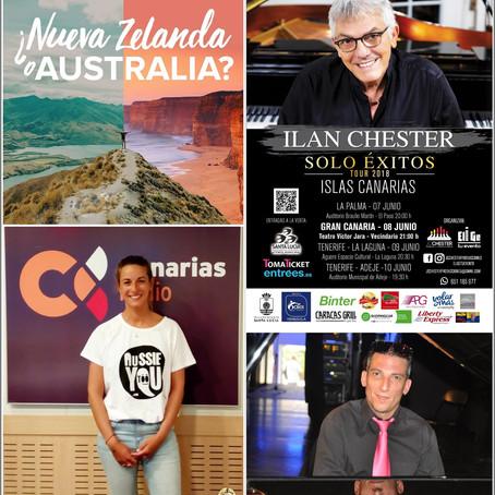 Iniciativas para conocer Australia y Nueva Zelanda. El venezolano Ilan Chester, de nuevo en Canarias
