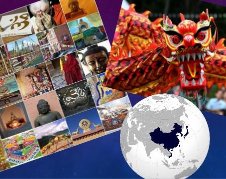 El origen de los nombres de los países de Asia