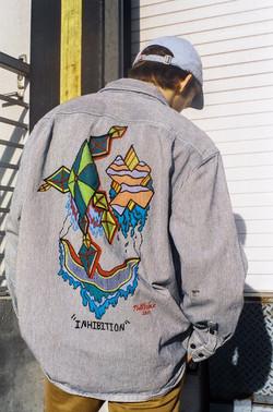 Custom Painted Carhartt Jacket 2018