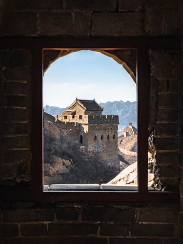 The Great Wall, Jinshanling, China, 2018.