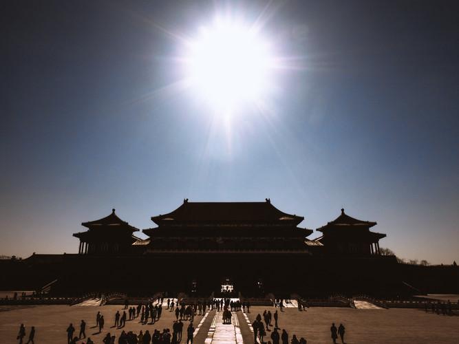 The Forbidden City, Beijing, China, 2018.