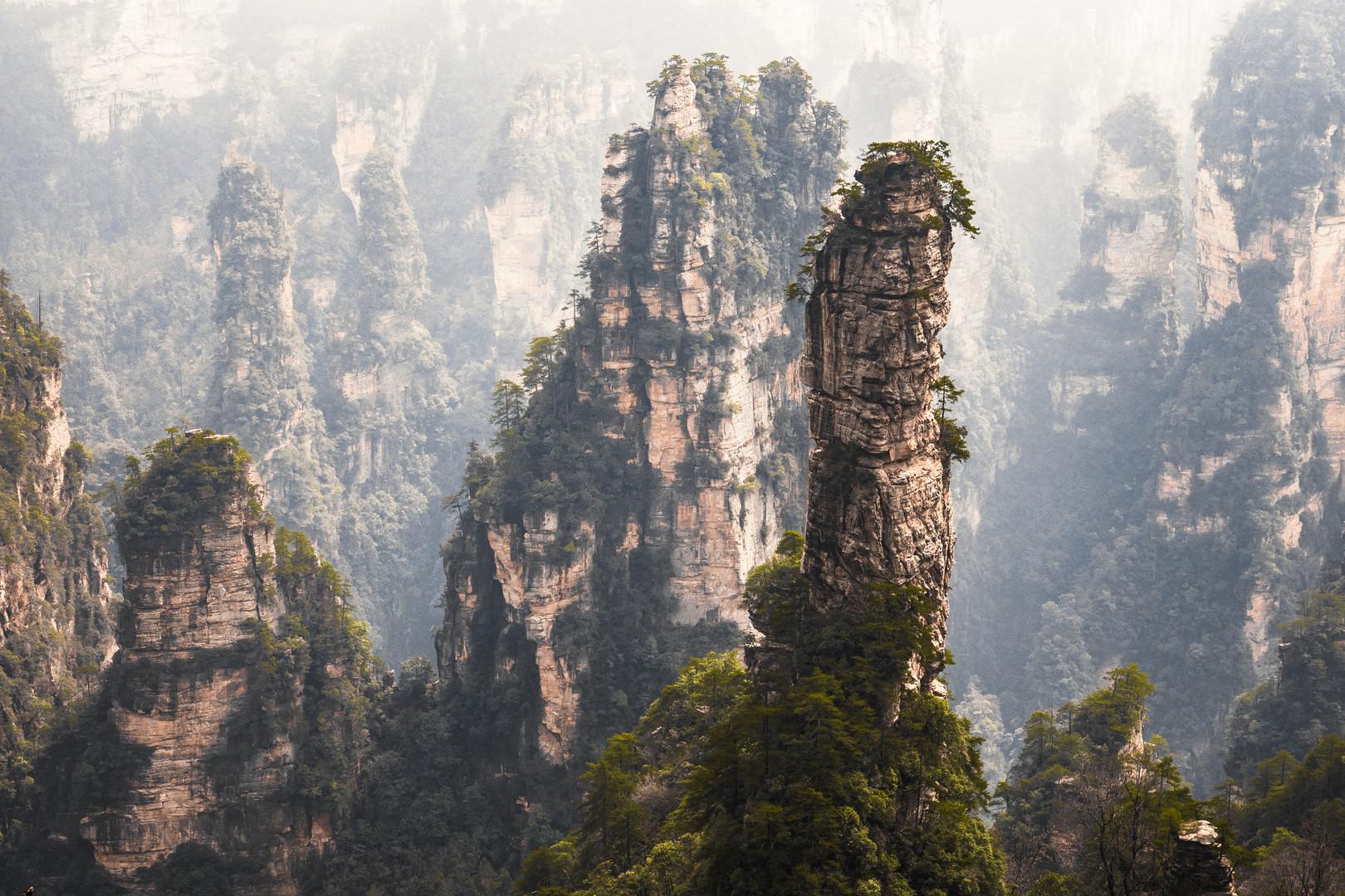 Zhangjiajie - Hunan - CHINA.