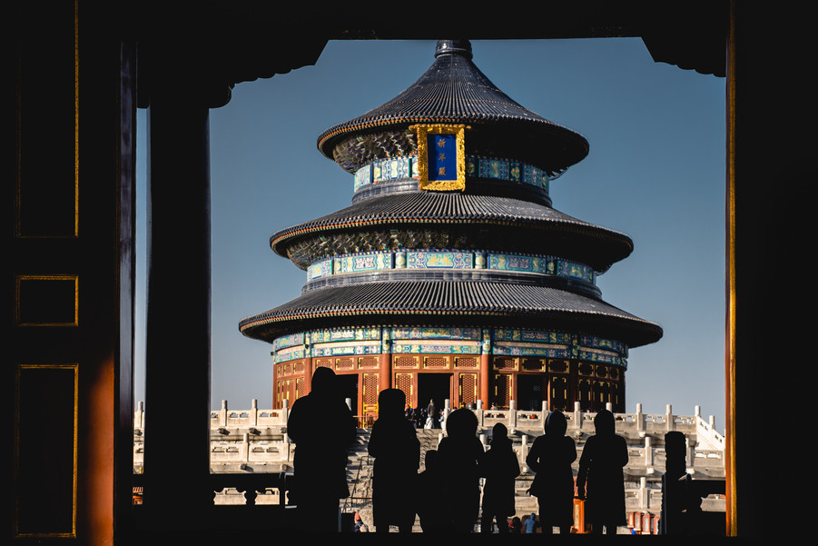 Temple of Heaven, Beijing, China, 2018.
